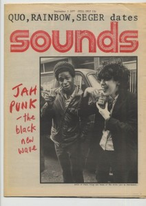 sounds-jah punk issue